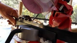 Sharpening Bandsaw Blades
