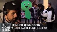 Heimlich Reinmogeln: Welche Taktik funktioniert? | Late Night Berlin | ProSieben