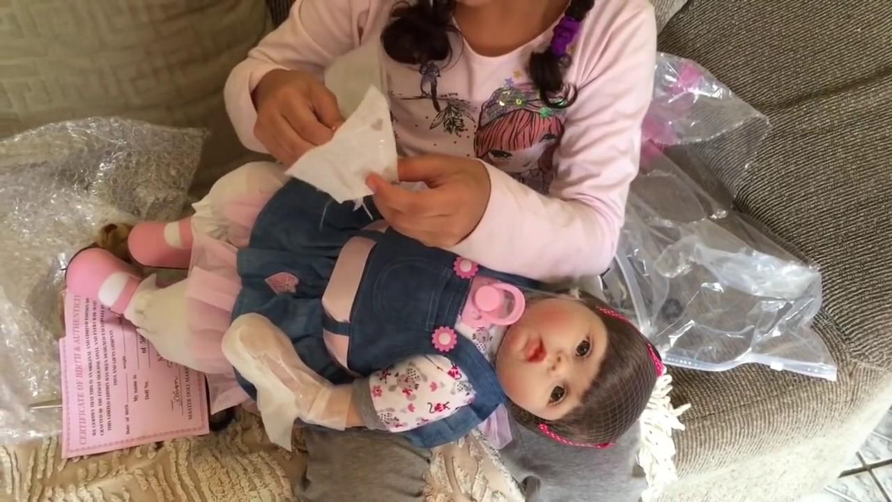 A Chegada Da Minha Bebe Reborn Giovana My Reborn Baby Youtube