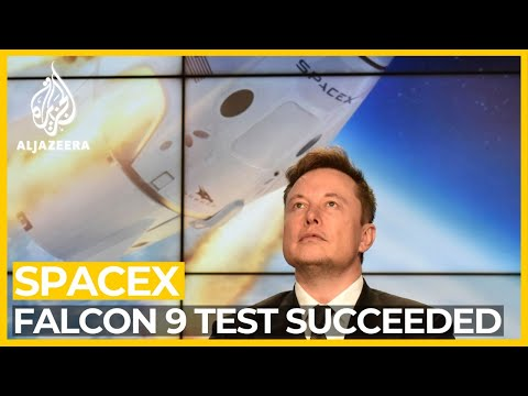 SpaceX test succeeds;
