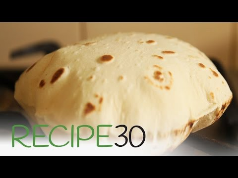 Easy To Make Roti Bread - Chapati Recipe