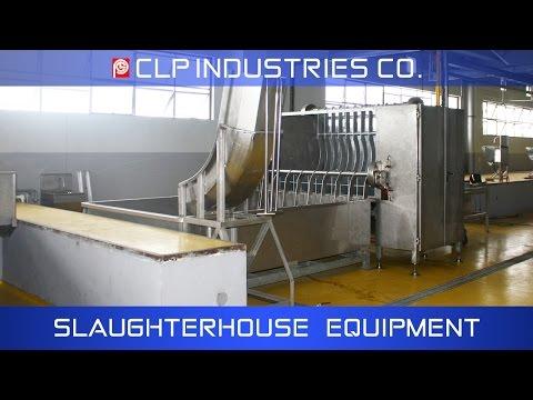 Hog slaughterhouse equipment by CLP Industries Co.