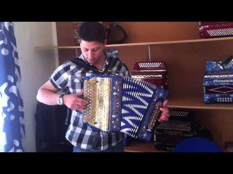 Filipe Oliveira na concertina