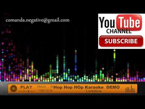Loredana - Hop Hop Hop Karaoke DEMO Negativ Instrumental