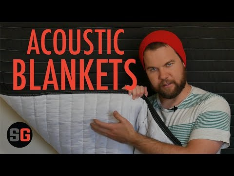 Acoustic Blankets for Set or Studio