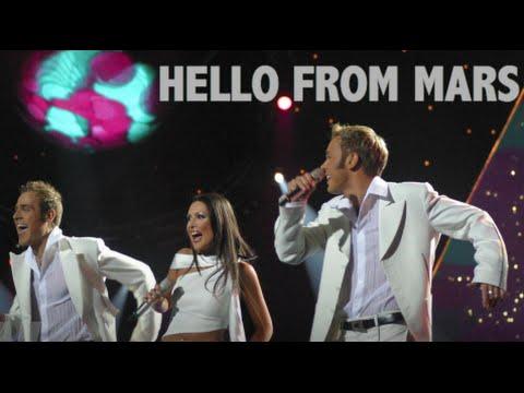 F.L.Y. - Hello From Mars - Eurovision Latvia 2003 - L.Reiniks, Y.Kay, M.Freimanis