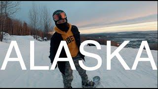 알래스카 미군 부대 스키장 브이로그 (ALASKA F…
