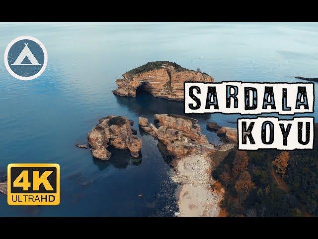 Sardala Koyu, Ağva   İstanbul'da Kamp Yapılacak Yerler [Drone 4K]
