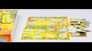 Обзор - распаковка игрушек Лото Супер лото - азбука в коробке  ДАНКО - ТОЙС