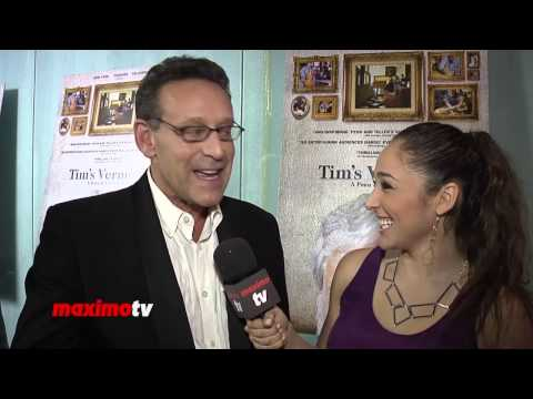 "Rob Steinberg Interview ► ""Tim's Vermeer"" Premiere Red Carpet Arrivals"