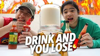 You Drink You Lose! (Spicy Challenge) | Ranz and Niana