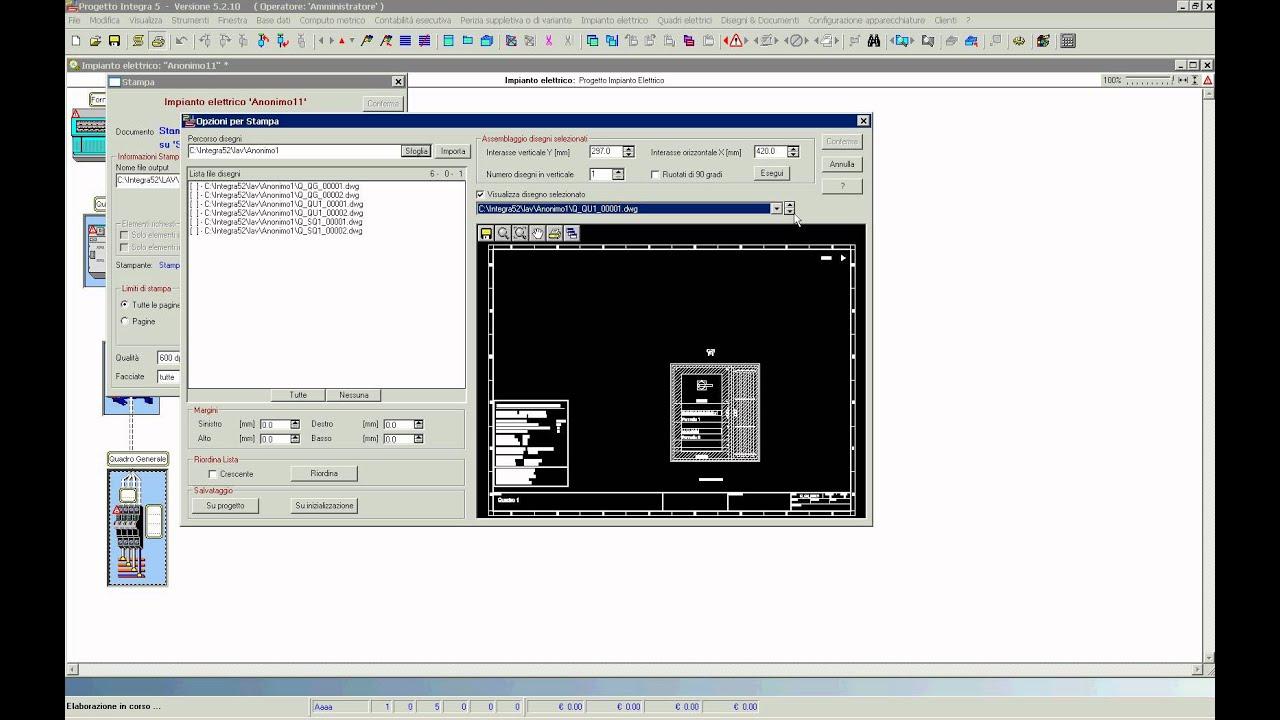 Progetto integra il motore grafico interno youtube for Progetto software