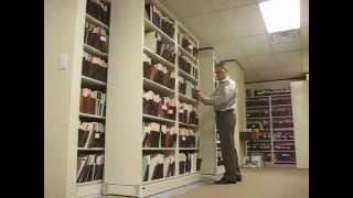 Sideways Sliding Shelves   Rolling Legal File Box Storage Shelving