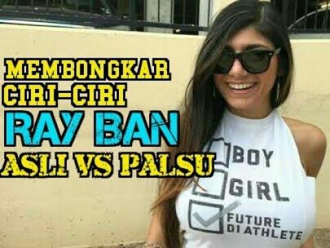 Membedakan Ray Ban Asli VS Ray Ban KW Super - Identify Fake & Original Ray Ban Aviator Sun Glasses -