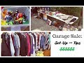 Garage Sale: Set-up & Tips | How to Set-Up Your Yard Sale to Make the Most Money