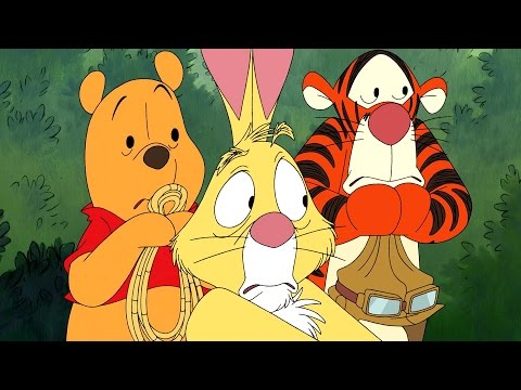 Hunting Heffalumps | The Mini Adventures of Winnie The Pooh | Disney
