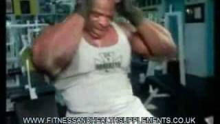 Ronnie Coleman ABS training fitness and health