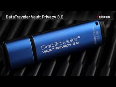 Kingston DataTraveler Vault Privacy 3.0 - Review #PrivacyMatters