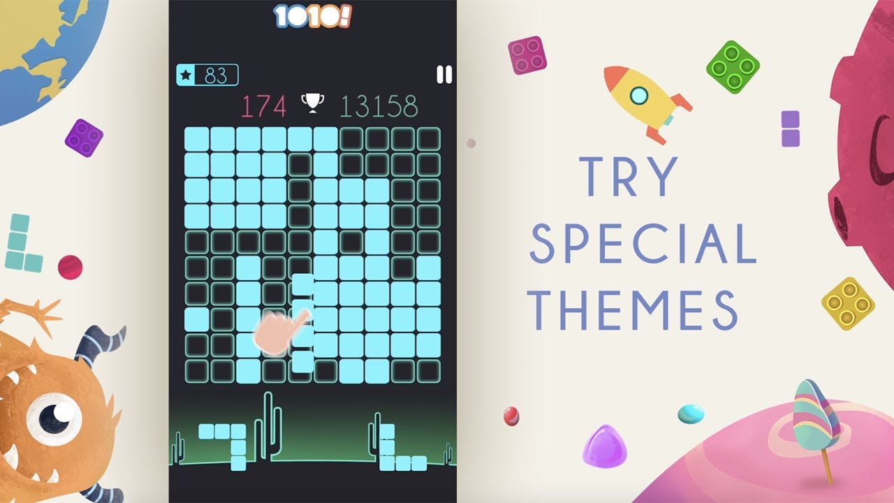 Gram Games | Try Out New 1010! Themes Now!