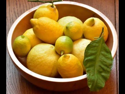 Profumi di cedro e di limone