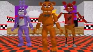 [MMD] FNAF Waka Laka (Animatronics)-Bonnie, Freddy and Foxy