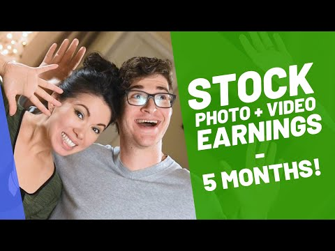 Stock Photography Money | 5 Months Earning Report (2019)