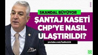 CHP'Lİ TEOMAN SANCAR ŞANTAJ KASEDİYLE İLGİLİ İLK KEZ KONUŞTU! #hadiözışık #teomansancar