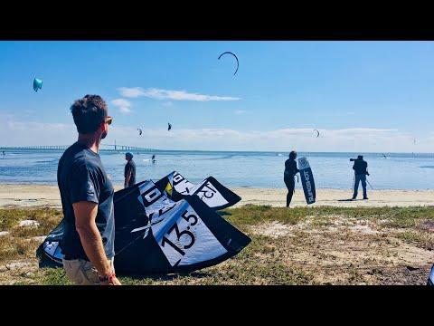 Damien LeRoy Professional Kiteboarding Adventure!   Sunshine Skyway Bridge