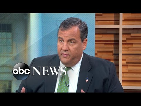 Chris Christie reacts to Trump's legal team shuffle