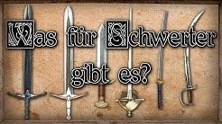 Was für Schwert arten gibt es ? [Mittelalter/Fantasy]