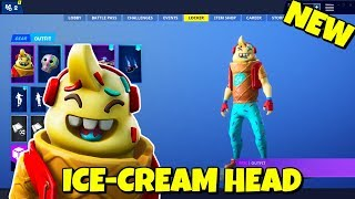 New ICE-CREAM 'LIL WHIP' SKIN In-Game Fortnite