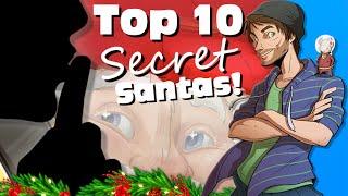Top 10 Secret Santas In Video Games! - SpaceHamster