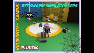 Roblox Bee Swarm Simulator New Bee's! | Spider Slayer | Cobweb Sweeper | Leisure Loot | Ep4