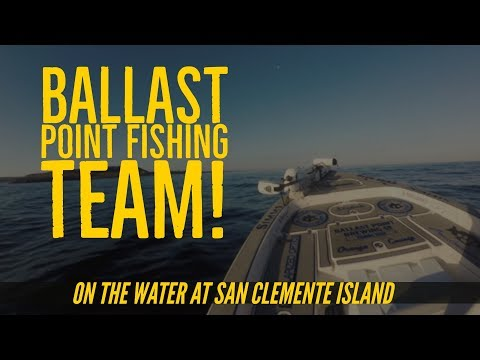 Ballast Point Brewery Fishing Team Part 1 Calico Bass Fishing At San Clemente Island