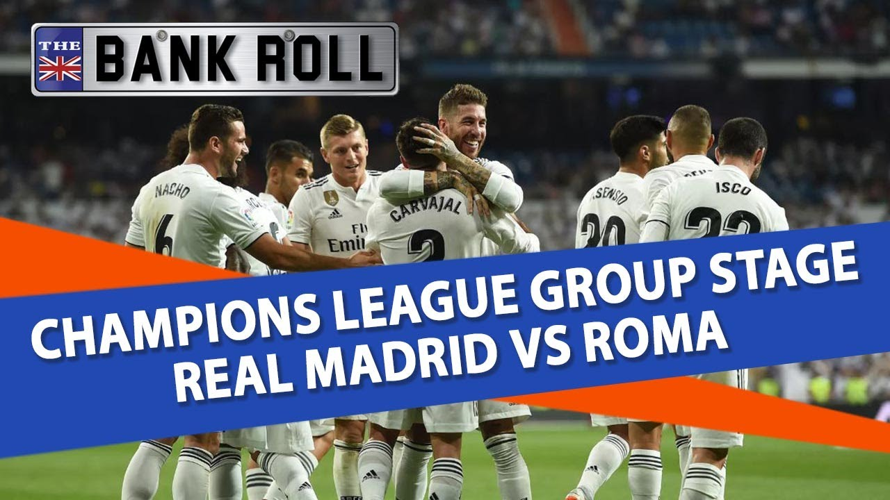 7e1fad10 Real Madrid vs Roma | Champions League Football Predictions | 19/09 ...