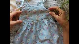видео обзор детского сарафана