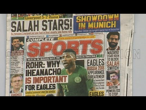 Review: Why Iheanacho Is Important For Eagles,Rohr Reveals |Sports This Morning|