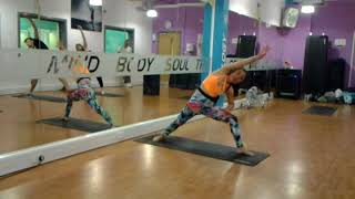 Michelle Cao . Body balance Instructor class
