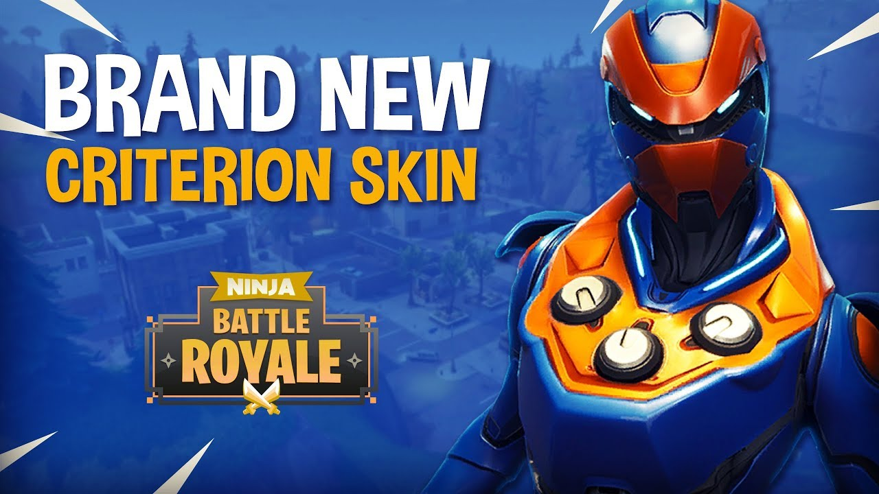 Brand New Criterion Skin Fortnite Battle Royale Gameplay
