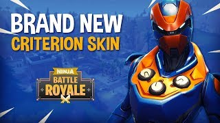 *BRAND NEW* Criterion Skin!! - Fortnite Battle Royale Gameplay - Ninja
