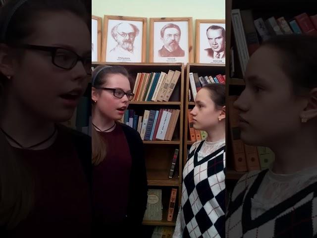 Изображение предпросмотра прочтения – «Мария Андреева и Анастасия Яковлева» читает произведение «Разговор лягушек» (Зарубежный фольклор )