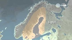 Miten Föhn-tuuli syntyy?