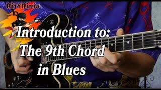 using the 9th chord in blues lesson 1 3
