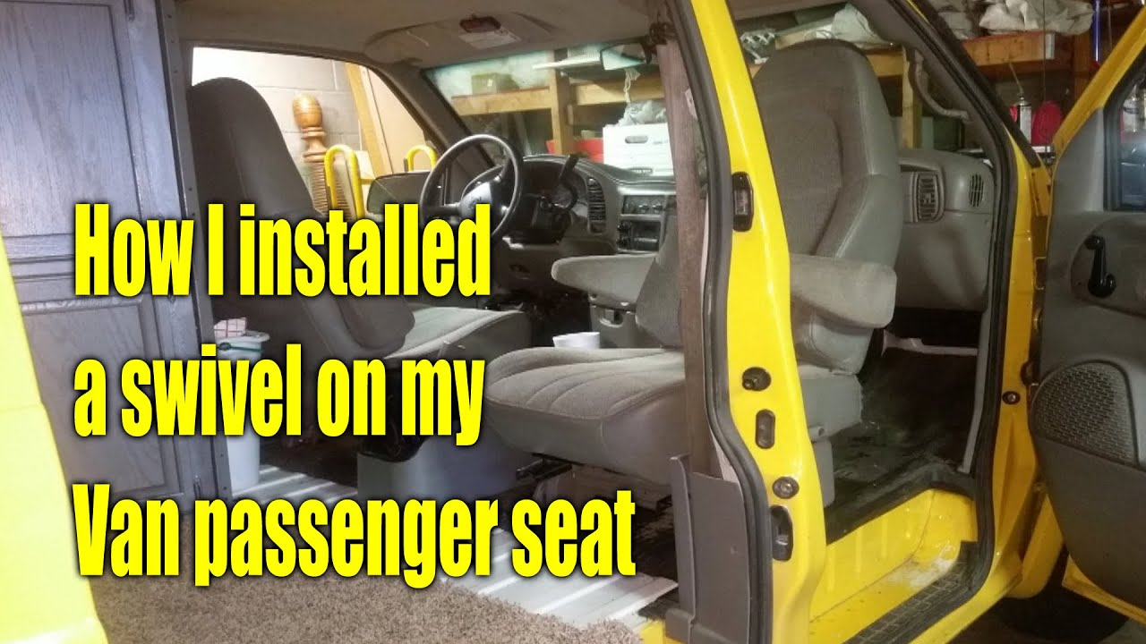 2016 Chevy Express >> Van Seat Swivel install - YouTube