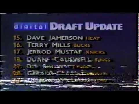 1990 NBA Draft - TNT - part 8