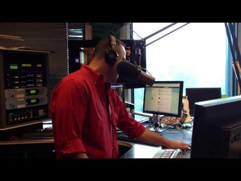 """""""Diamond Boy Luis"""" Live on CBS Radio El Zol 107.9 Washington DC"""
