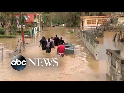 Puerto Rico governor warns of humanitarian crisis after Maria