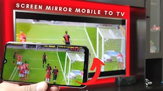 How to Mirror Phone Screen to Iffalcon TV | Cast Mobile Screen to TV- Wireless Display