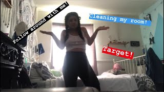 Follow Me Around - Target, Ramblings, Cleaning My Room