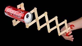 How to Make a Robotic Scissor Arm from Popsicle Sticks